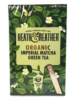 Heath & Heather Organic Imperial Matcha Green Tea  - Click to view a larger image