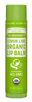 Dr Bronner's Lemon Lime Organic Lip Balm  - Click to view a larger image