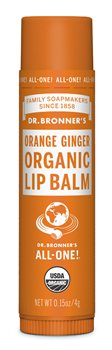Dr Bronner's Orange Ginger Organic Lip Balm  - Click to view a larger image