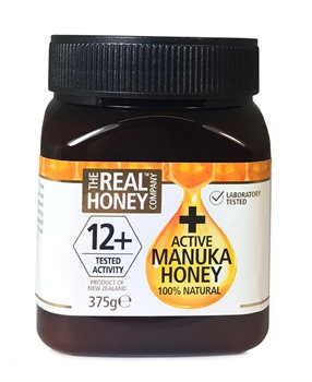 The Real Honey Company 12+ Active Manuka Honey  - Click to view a larger image