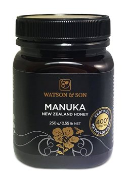 Watson & Son Manuka New Zealand Honey MGO 400+   - Click to view a larger image