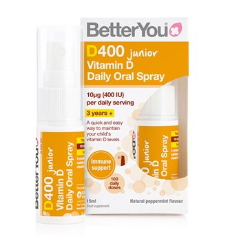 Better You  DLux Junior Vitamin D Daily Oral Spray  - Click to view a larger image