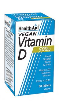 Health Aid Vitamin D 500iu   - Click to view a larger image