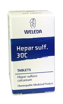Weleda Hepar Sulf. 30C  - Click to view a larger image