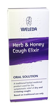 Weleda Herb & Honey Cough Elixir  - Click to view a larger image