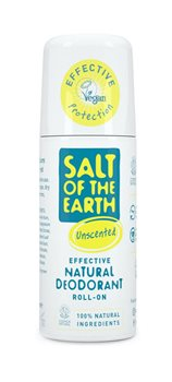 Crystal Spring Salt of the Earth Natural Roll On Unscented  - Click to view a larger image