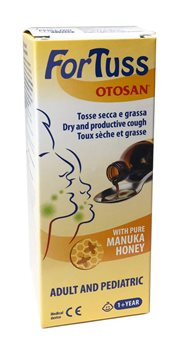 Otosan ForTuss Cough Syrup  - Click to view a larger image