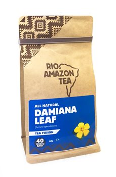 Rio Amazon Damiana Leaf Tea Bags  - Click to view a larger image