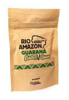 Rio Amazon Guaraná Buzz Gum  - Click to view a larger image