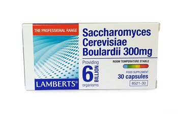 Lamberts Saccharomyces Cerevisiae Bouardii 300mg  - Click to view a larger image