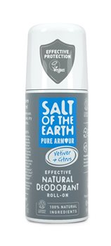 Crystal Spring Salt of the Earth Pure Armour Vetiver & Citrus Roll On  - Click to view a larger image