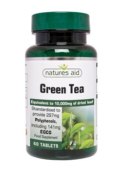 Natures Aid Green Tea  - Click to view a larger image