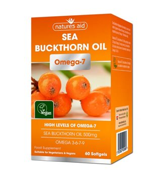 Natures Aid Sea Buckthorn Oil  - Click to view a larger image