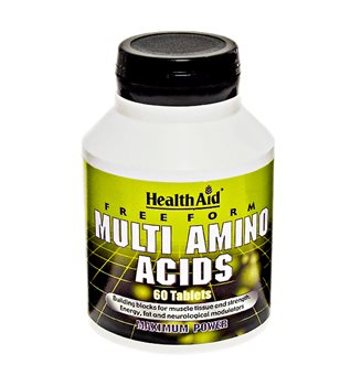 Health Aid Free Form Multi Amino Acids  - Click to view a larger image