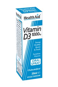 Health Aid Vitamin D3 1000iu Spray  - Click to view a larger image