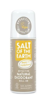 Crystal Spring Salt of the Earth Amber & Sandalwood Roll On  - Click to view a larger image
