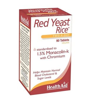 Health Aid Red Yeast Rice  - Click to view a larger image