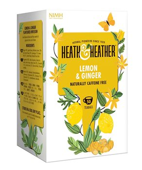Heath & Heather Lemon & Ginger  - Click to view a larger image