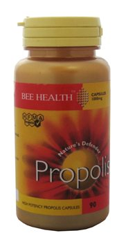 Bee Health Propolis Capsules 1000mg  - Click to view a larger image