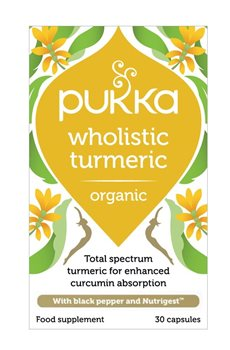 Pukka Wholistic Turmeric  - Click to view a larger image