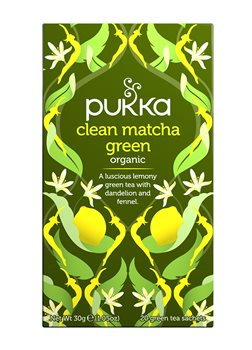 Pukka Clean Matcha Green  - Click to view a larger image