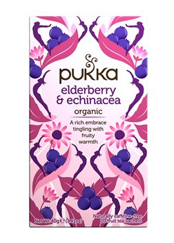 Pukka Elderberry & Echinacea  - Click to view a larger image