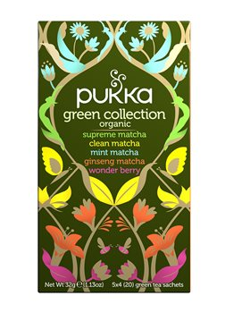 Pukka Green Collection Pack  - Click to view a larger image