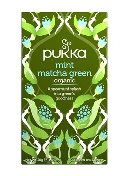 Pukka Mint Matcha Green  - Click to view a larger image