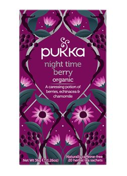 Pukka Night Time Berry  - Click to view a larger image