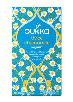 Pukka Three Chamomile  - Click to view a larger image