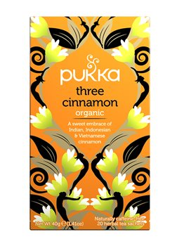 Pukka Three Cinnamon  - Click to view a larger image