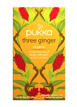 Pukka Three Ginger  - Click to view a larger image