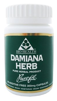 Bio Health Damiana Herb  300mg  - Click to view a larger image