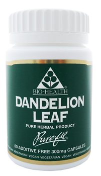 Bio Health Dandelion Leaf  300mg  - Click to view a larger image