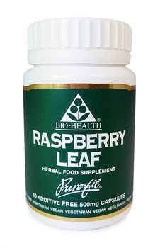 Bio Health Raspberry Leaf 500mg  - Click to view a larger image