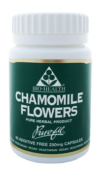 Bio Health Chamomile Flowers  250 Mg  - Click to view a larger image
