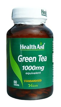 Health Aid Green Tea 1000mg  - Click to view a larger image