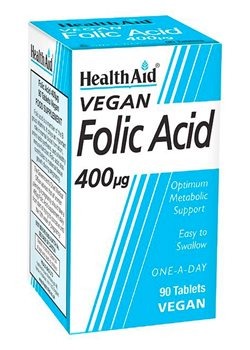 Health Aid Folic Acid 400ug   - Click to view a larger image