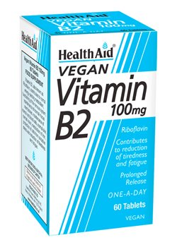 Health Aid Vitamin B2 (riboflavin)  - Click to view a larger image