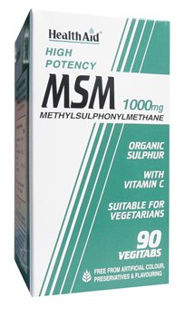 Health Aid MSM 1000mg   - Click to view a larger image
