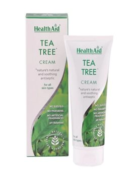 Health Aid Tea Tree Cream  - Click to view a larger image