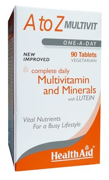 Health Aid A to Z Multivitamin  - Click to view a larger image