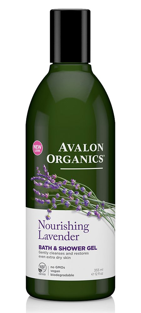 Avalon Organics Lavender Bath and Shower Gel 1