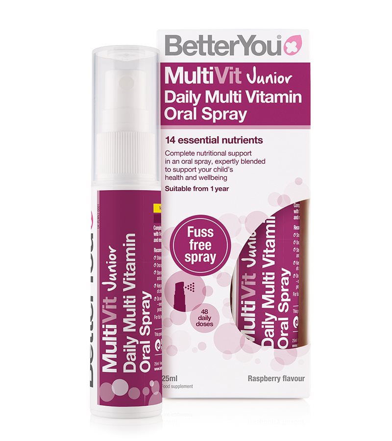Better You MultiVit Junior Daily Oral Spray 1