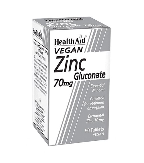 Health Aid Zinc Gluconate 70mg 1
